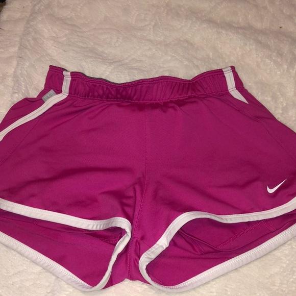 Nike Pants - Nike SHORTS PINK SIZE SMALL